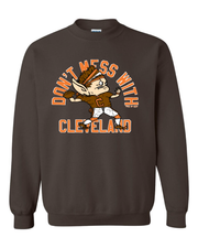 """Don't Mess with Cleveland QB Elf"" on Brown - Only in Clev"