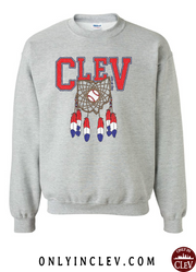 """Cleveland Dreamcatcher Design"" on Gray"