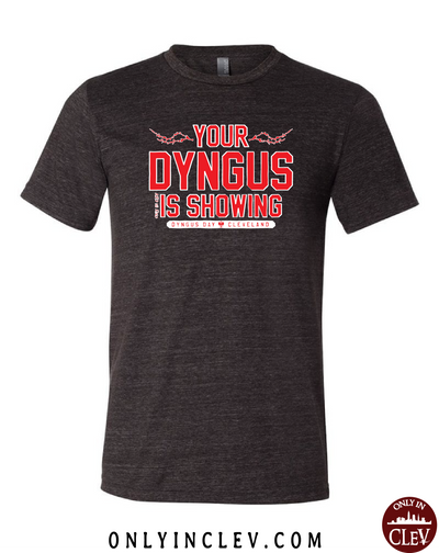 """Your Dyngus is Showing"" Design on Black"