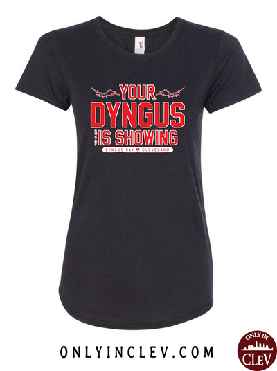 Your Dyngus Is Showing Womens T-Shirt - Only in Clev