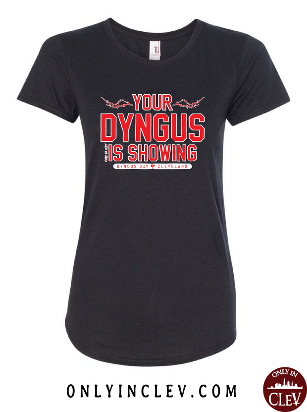 Your Dyngus Is Showing Womens T-Shirt