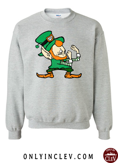 Cleveland Irish Elf Crewneck Sweatshirt
