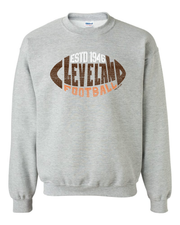 """Cleveland Football 1946"" T Shirt on Gray"