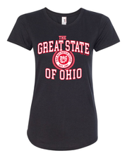 """Great State of Ohio"" Design on Black"