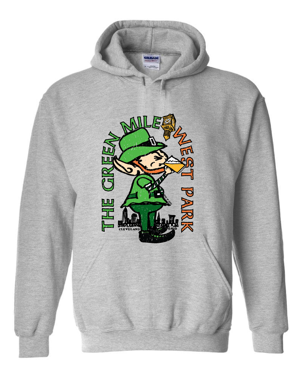 """Green Mile West Park Shirt"" on Grey - Only in Clev"