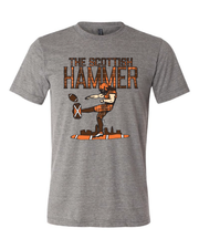 """Scottish Hammer"" on Gray - Only in Clev"