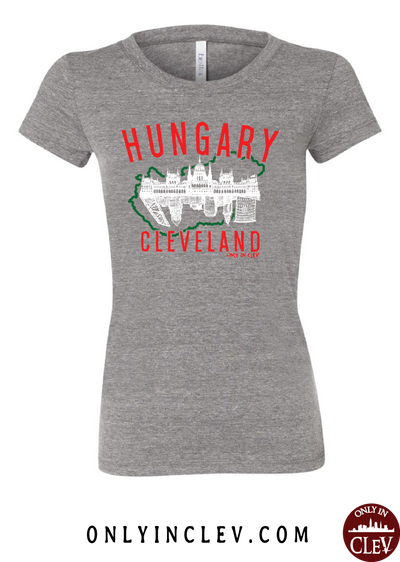 Cleveland Hungarian-Nationality Tee Womens T-Shirt