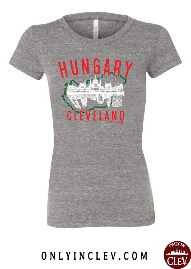 Cleveland Hungarian-Nationality Tee Womens T-Shirt - Only in Clev