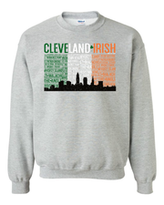 """Cleveland Irish Flag"" design on Grey"