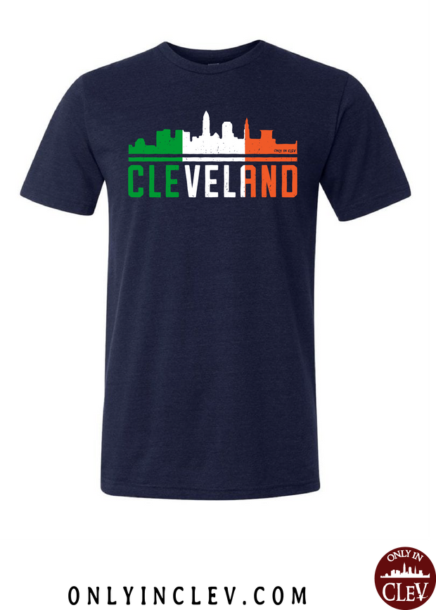 Irish Cleveland Skyline T-Shirt