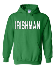 """Irishman"" design on Kelly Green - Only in Clev"