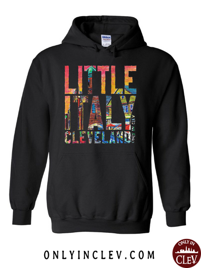 Italia-Cleveland Hoodie - Only in Clev