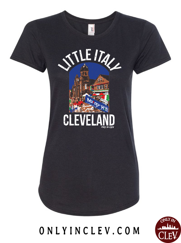 Murray Hill Cleveland Womens T-Shirt - Only in Clev