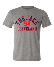 """The Jake"" Baseball Design on Gray - Only in Clev"