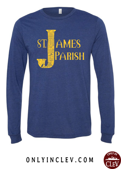 St. James Long Sleeve T-Shirt - Only in Clev