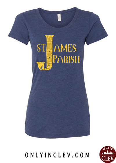 St. James Womens T-Shirt - Only in Clev