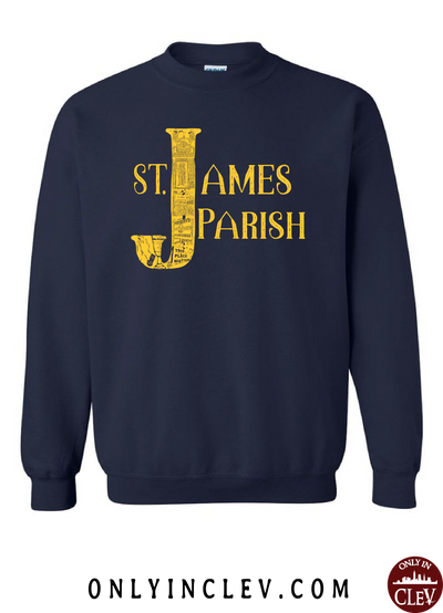St. James Crewneck Sweatshirt - Only in Clev