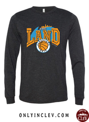 """The Land Retro 90's"" Design on Black"
