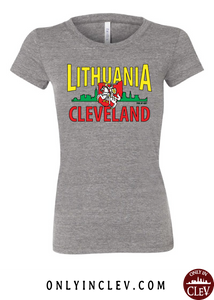 Cleveland Lithuania-Nationality Tee