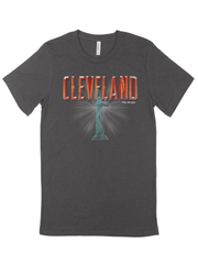 Cleveland Fountain of Eternal Youth T-Shirt on Black - Only in Clev