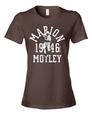 """Marion Motley Throwback"" Design on Brown"