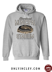 """Cleveland Muni Stadium"" on Gray - Only in Clev"