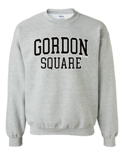 """Gordon Square"" Shirt on Gray"