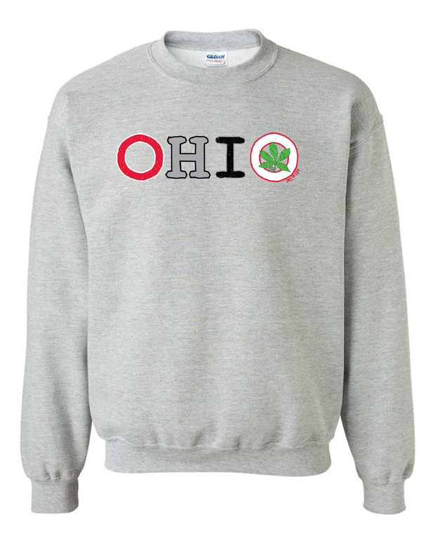 """Colorful Ohio"" Design on Gray - Only in Clev"