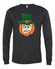 """The Cleveland Ohio Leprechaun"" design on Black - Only in Clev"
