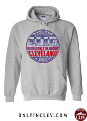 """Only in Cleveland"" Design on Gray - Only in Clev"