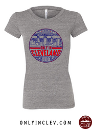 """Only in Cleveland"" Design on Gray"