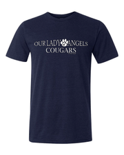 """Our Lady of Angels Cougars"" Design on Gray - Only in Clev"