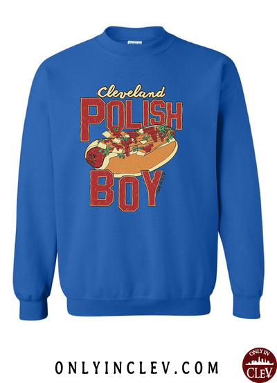 Cleveland Polish Boy Crewneck Sweatshirt - Only in Clev