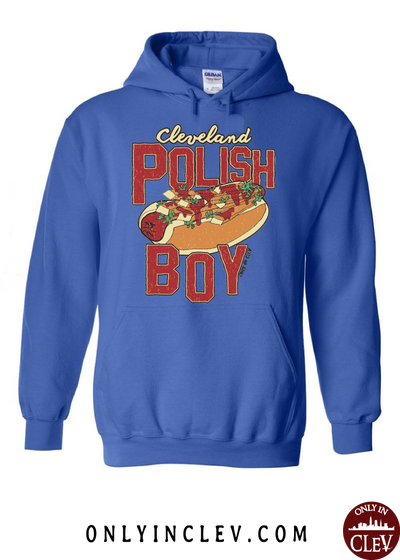 Cleveland Polish Boy Hoodie - Only in Clev