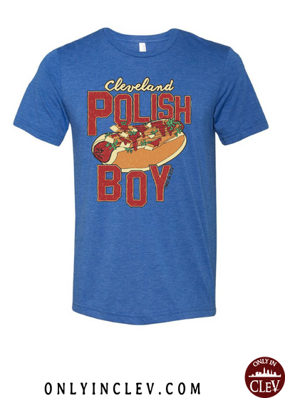 Cleveland Polish Boy T-Shirt - Only in Clev