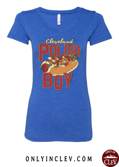 Cleveland Polish Boy Womens T-Shirt - Only in Clev