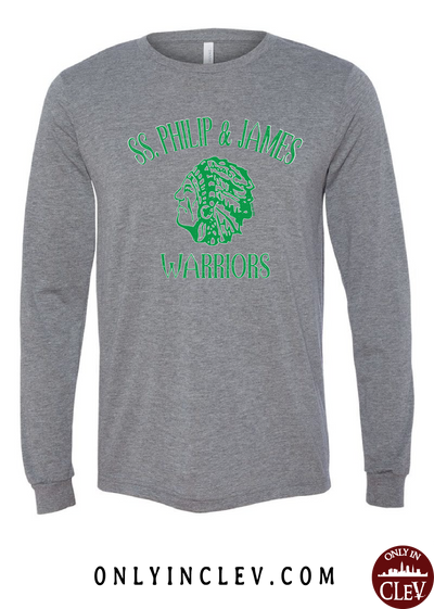 SS. Philip and James Warriors Long Sleeve T-Shirt - Only in Clev