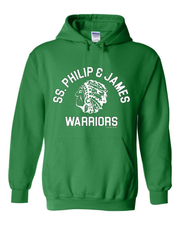 "New ""SS. Philip & James"" Design on Green"