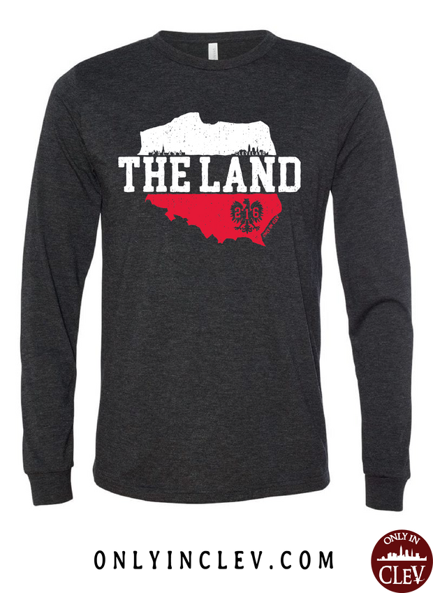 The Land - Poland & Cleveland Long Sleeve T-Shirt - Only in Clev