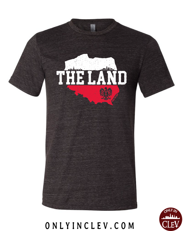 The Land - Poland & Cleveland T-Shirt - Only in Clev