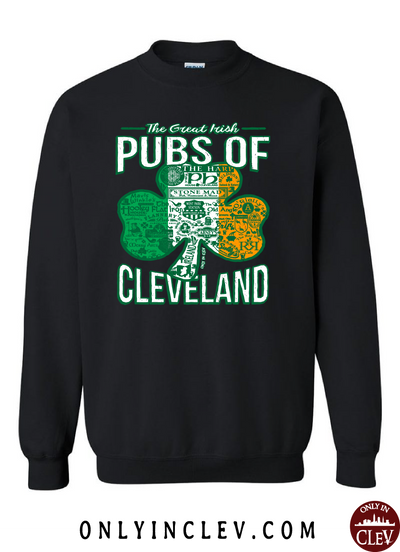 Cleveland Irish Pubs Crewneck Sweatshirt
