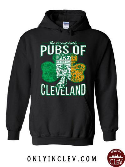 Cleveland Irish Pubs Hoodie - Only in Clev