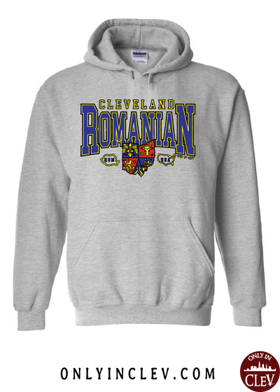 Cleveland Romania-Nationality Tee Hoodie