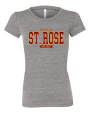 "Property of ""St. Rose"" Design"" on Gray"