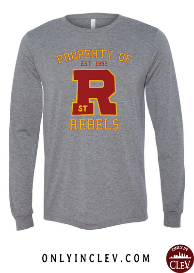 St. Rose Rebels Long Sleeve T-Shirt - Only in Clev