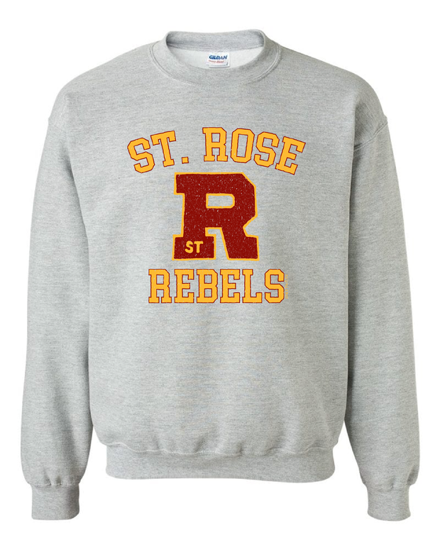"""St. Rose Rebels"" Design"" on Gray - Only in Clev"