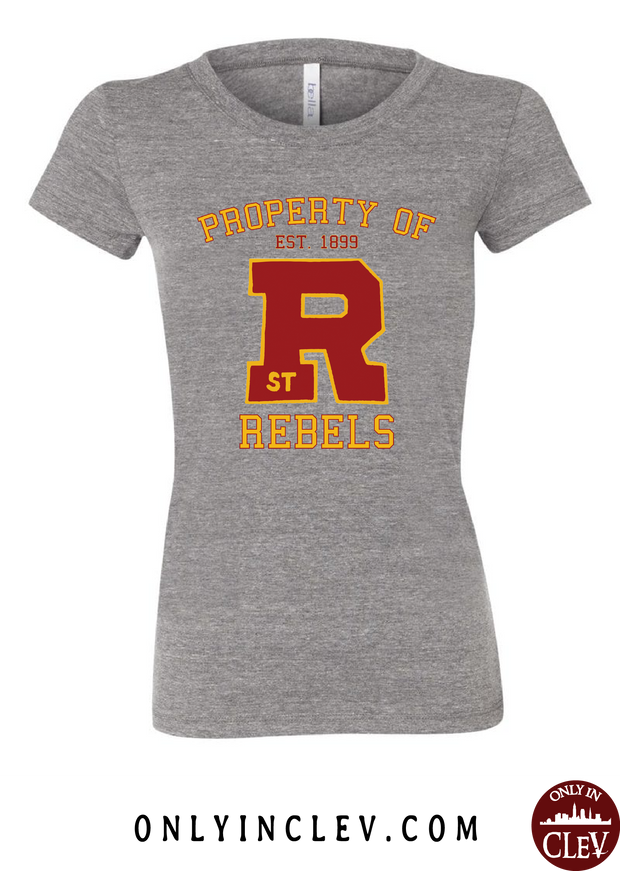 St. Rose Rebels Womens T-Shirt - Only in Clev