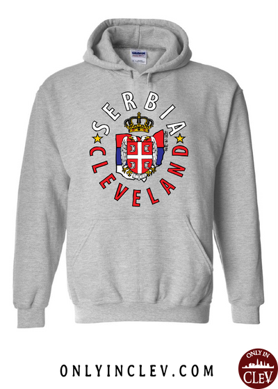 Cleveland Serbia-Nationality Tee Hoodie