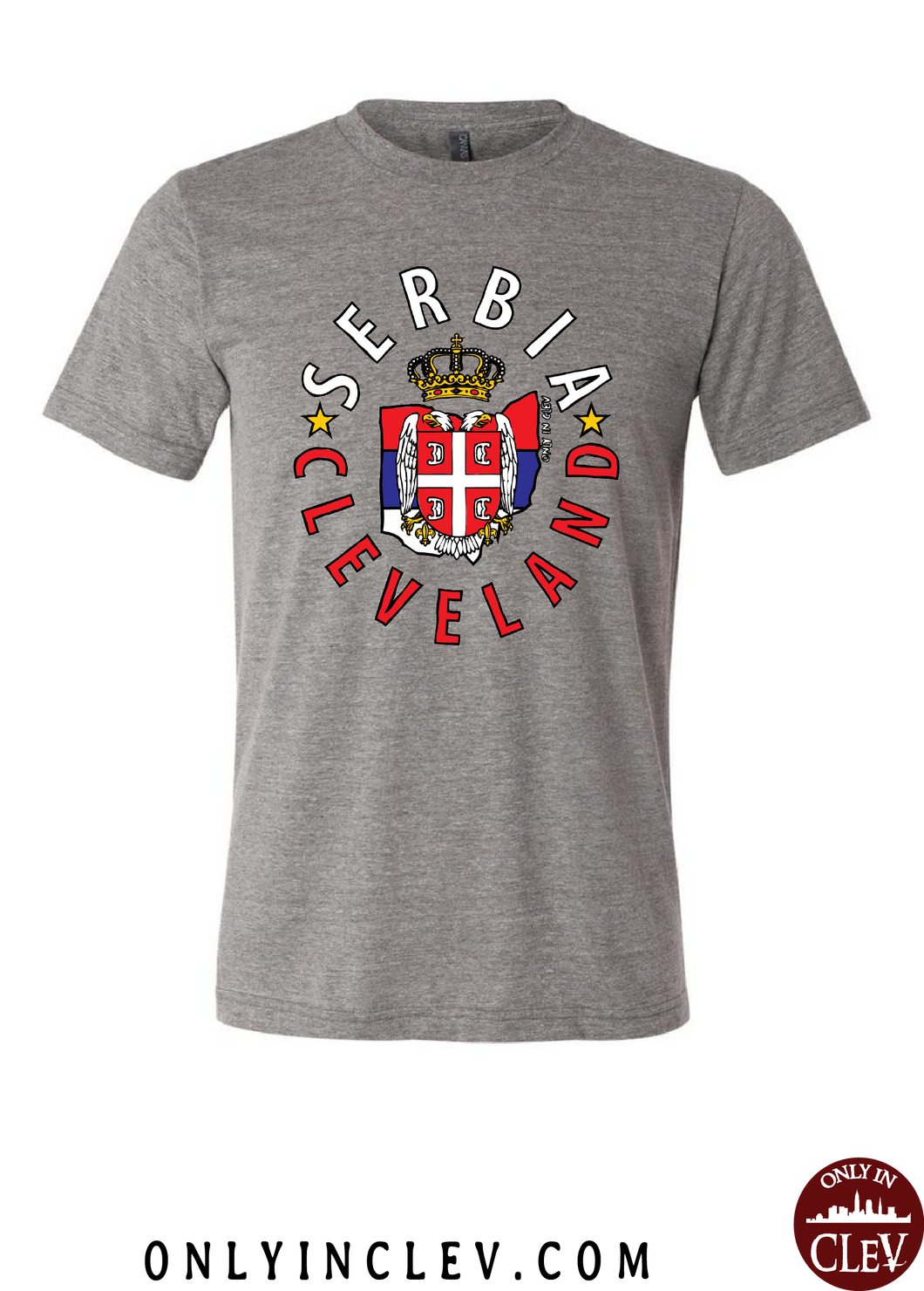 Cleveland Serbia-Nationality Tee