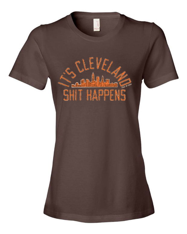 "It's Cleveland ""Shit Happens"" on Brown"